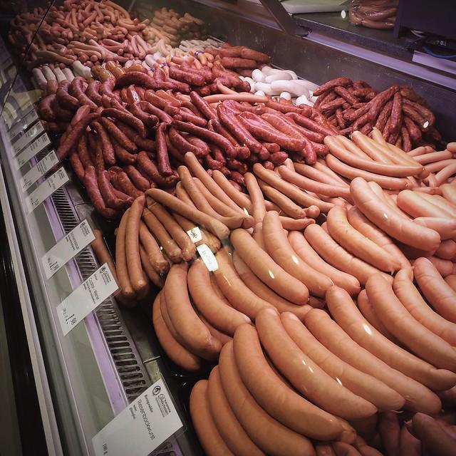 Lekker eten in Berlijn: worstwalhalla op de Feinscheckeretage van het KaDeWe