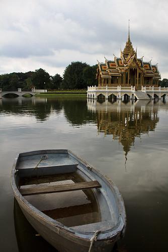 Bang Pa In  - Boat