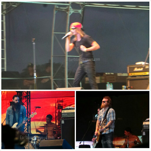 Red Jumpsuit Apparatus at 7107 International Music Festival