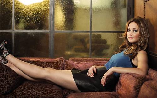 Jennifer Lawrence 4K Wallpaper