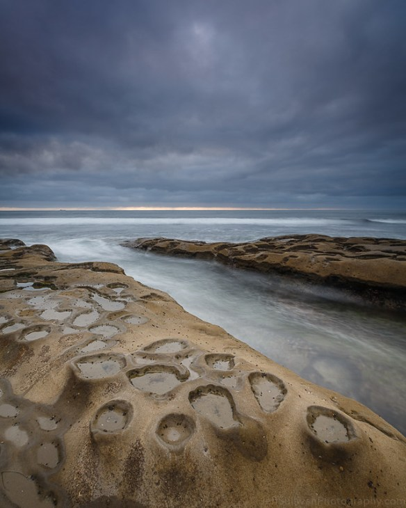 Cloudy La Jolla Evening