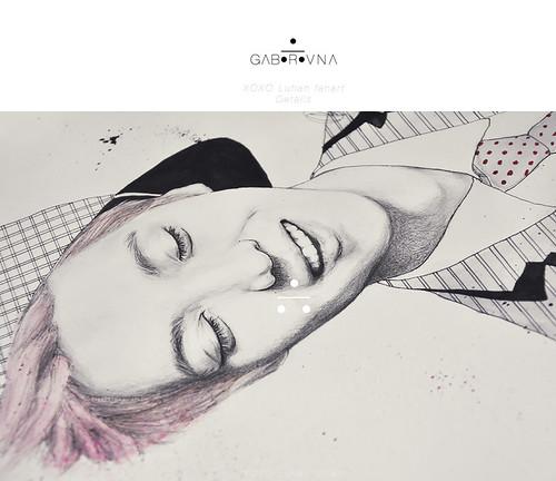 XOXO Luhan fanart - Details