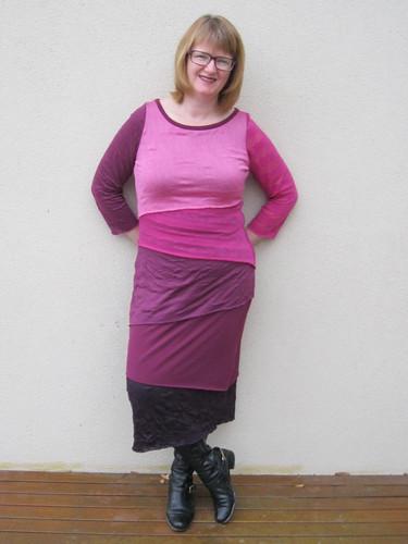 "Vogue 8904 - Marcy Tilton's ""shingle"" dress"