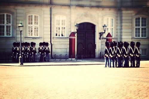 Changing of the Guards at Amalienborg Castle by SpatzMe