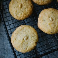 Pine Nut and Rosemary Cookies