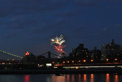 Fireworks over Brooklyn