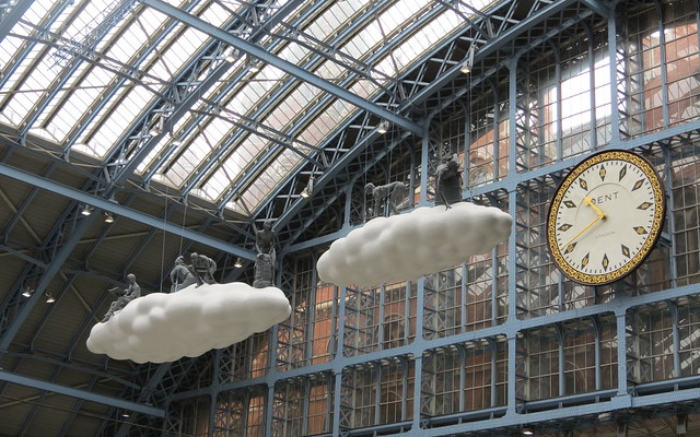 Cloud: Meteoros, by Lucy & Jorge Orta at St Pancras International