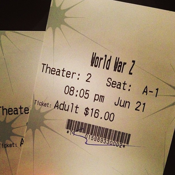 First time at a theater with assigned seats. Expensive seats, but they are the most comfiest seats ever. #fancy #babymoonpartdeux