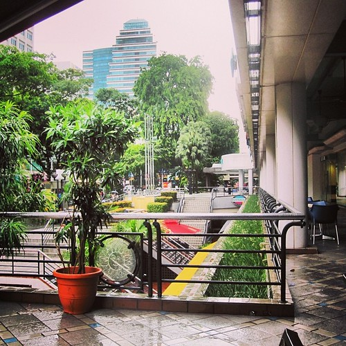 Orchard Road from The Coffee Bean #singapore by @MySoDotCom
