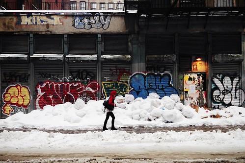 Urban snow