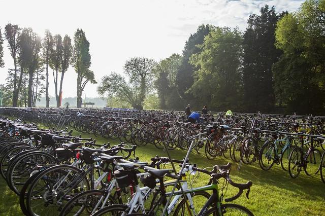 Bikes racked up