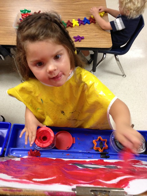 painting at kindercare