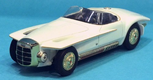 Matrix Exner Ghia Mercer-Cobra 1965