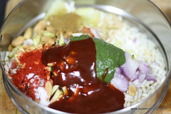 Bhel puri step 4