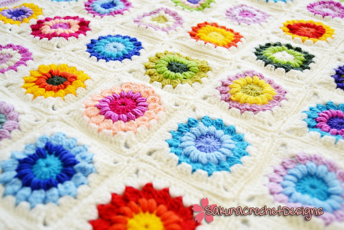 Winter Garden Baby/Toddler blanket