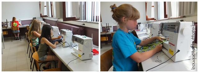 sewing classes for children, naailessen voor kinderen