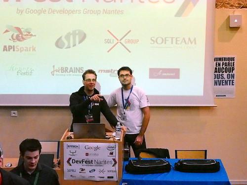 DevFest 2013 : Présentation GDG Nantes