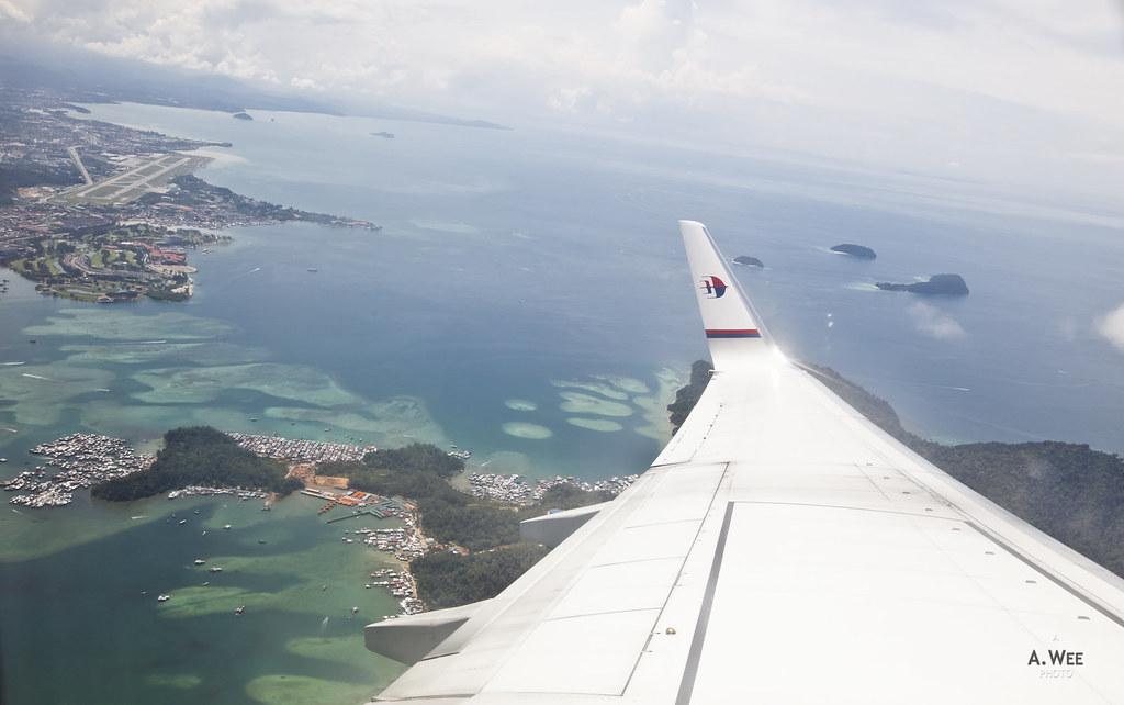 Kota Kinabalu Aerial View
