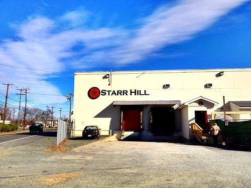 Start Hill's new sign