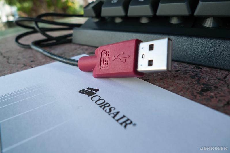 Corsair Raptor K30 and K50 Gaming Keyboards 5