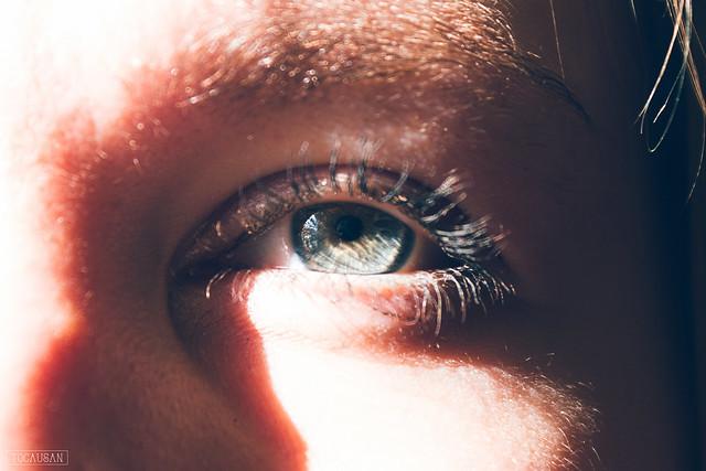Her eye