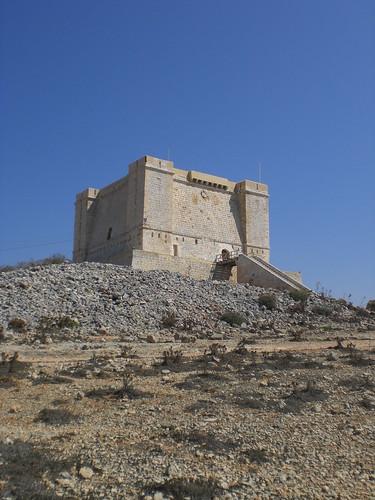 Comino era celosamente protegida desde la Torre de Santa María