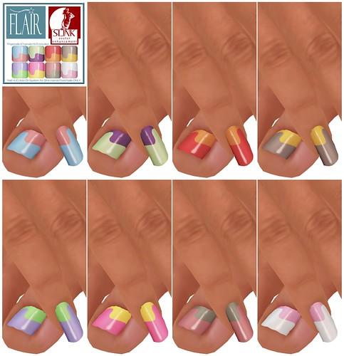 Flair - Nails Set 54