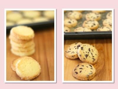 06フランス菓子教室ベーシックコース・ココナツとショコラのサブレ