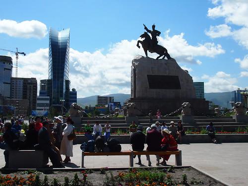 Ulan Bator city center - Mongolia