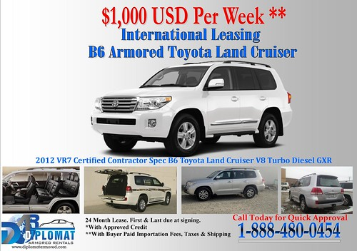 Armored Vehicle Lease Program by diplomatarmored