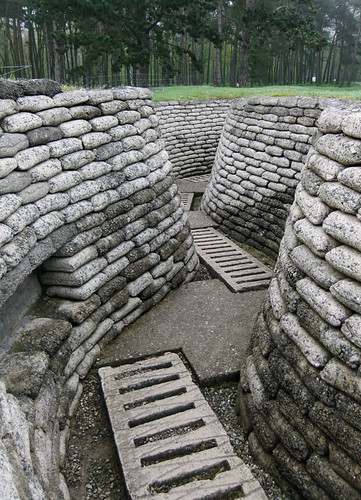 Vimy Ridge Sandbags in the Trenches