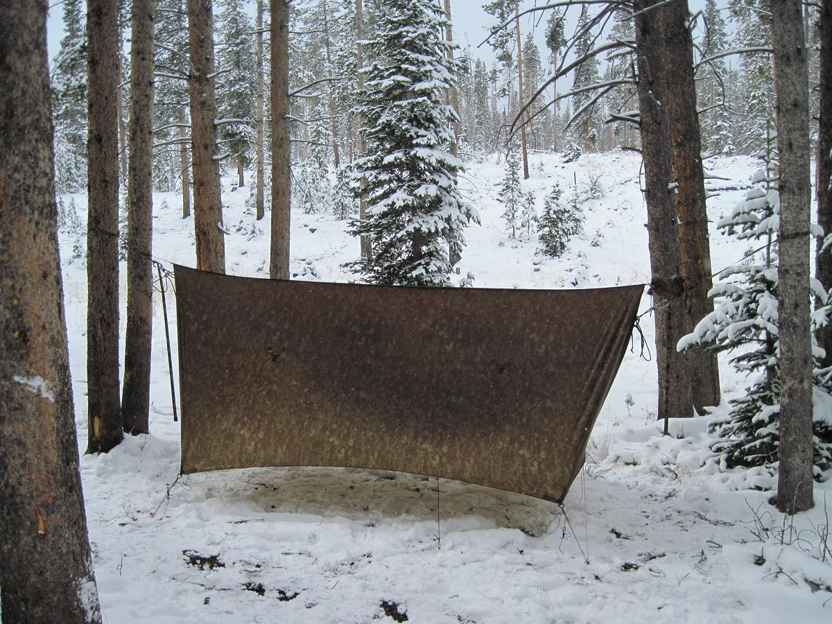 Hunt This Year Winter Hammock Style