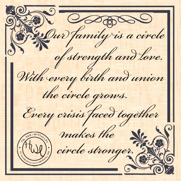 Family Circle Strength Love