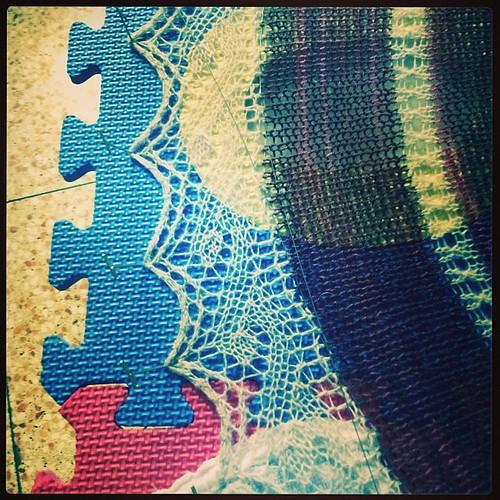 Pizzo #instaknit #lavoroamaglia #fattoamano #knit #knitting #serialknitter