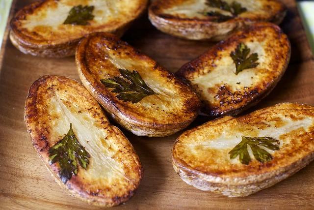 parsley leaf potatoes