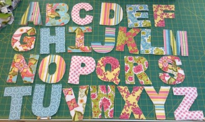 Quilted Letters