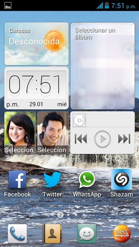 emotion ui - huawei evolucion 3