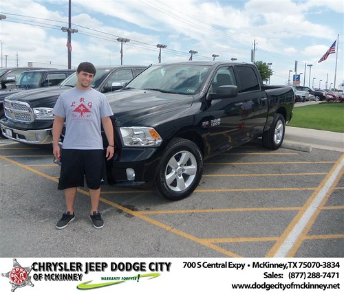 Dodge City of McKinney would like to say Congratulations to David Nadolny on the 2013 Dodge Ram by Dodge City McKinney Texas