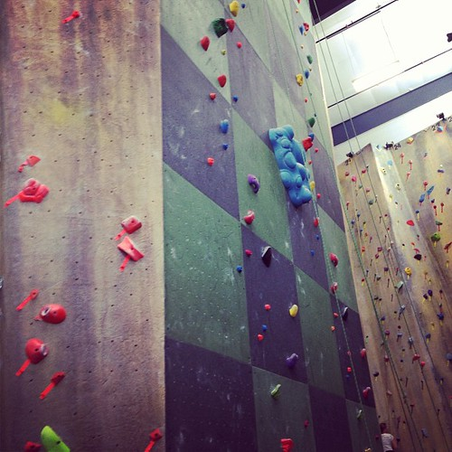 First #climbingwall attempt in many years