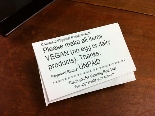 vegan instructions