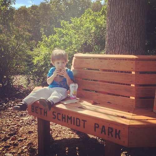 #fridaydonutdate at the park. It's been too long.