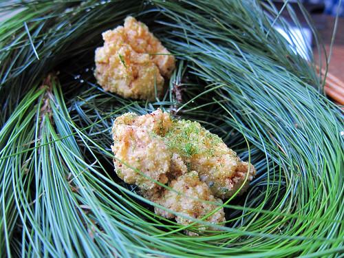 Buttermilk Fried Chicken and Pine Salt