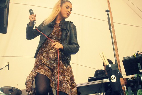 claire at feel festival