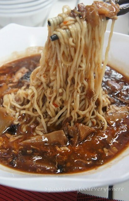 5.koufu -Koufu Lu Mien mix with Laksa