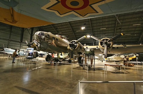 """Photo copyright Jen Baker/Liberty Images; all rights reserved. Pins to this page are okay. """"B-17: Shoo Shoo SHOO, Baby!"""""""