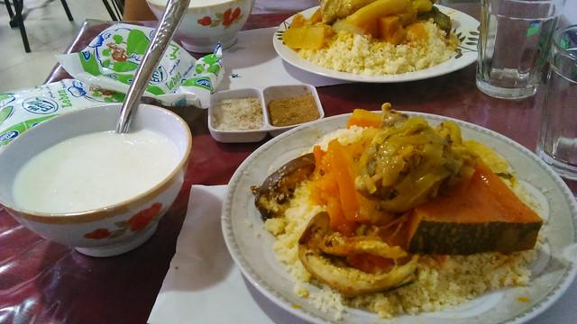 saykouk, morocco, agadir, souk el had, things to do in morocco, chicken couscous