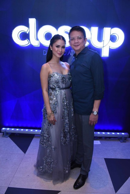Soon-to-be-wed couple, Heart Evangelista and Chiz Escudero