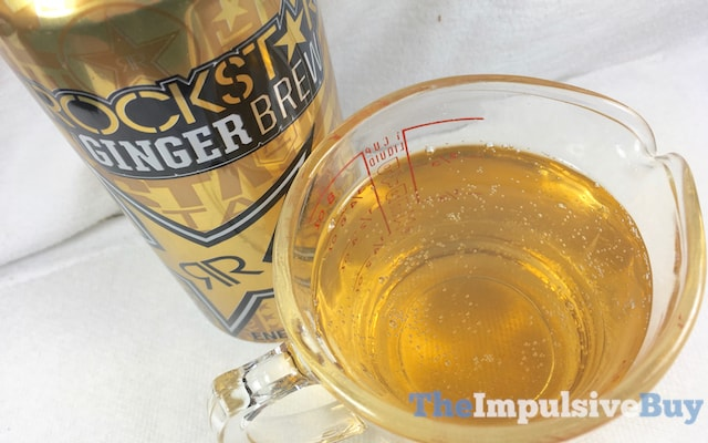 Rockstar Ginger Brew Energy Drink 2