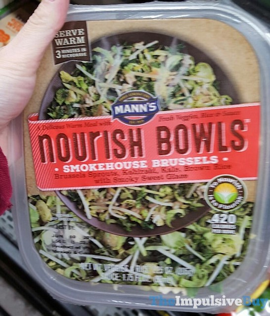 Mann's Smokehouse Brussels Nourish Bowls