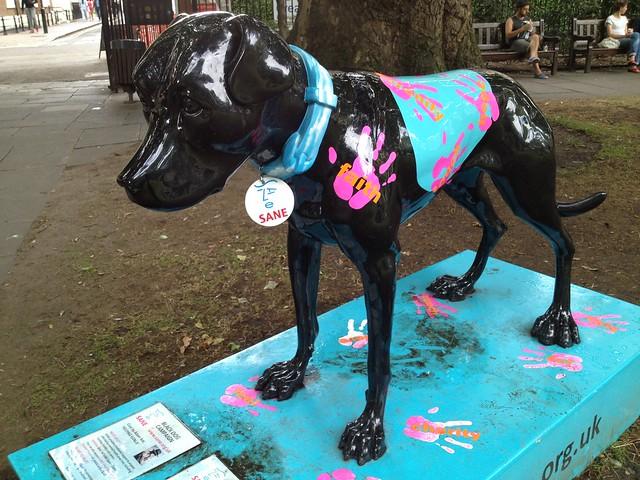 Black Dog Campaign statue